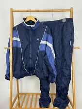 VTG Givenchy Activewear Men's Two Piece Windbreaker Tracksuit Jacket & Pants XL