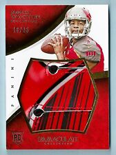 JAMEIS WINSTON 2015 PANINI IMMACULATE COLLECTION 3 COLOR RC GAME WORN GLOVES /25
