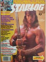 Starlog Magazine Aug 1984 #85 Arnold Schwarzenegger Blade Runner Poster NoML EX