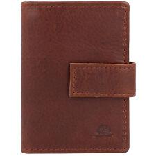 Greenburry Vintage Geldbörse RFID Leder 7 cm (cognac)