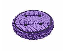 Lowrider Bike Steering Wheel Cover Velour Buttons Purple