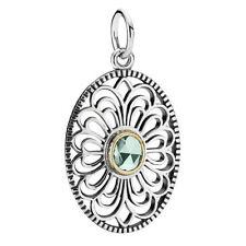 NEW! Authentic Pandora Vintage Allure Green Spinel Pendant #390348SSG RETIRED