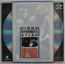 HEARTS Of FIRE  Bob DYLAN  FIONA  Rupert Everett  Rock Music Tale Rare Laserdisc
