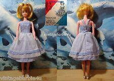 Vintage Miss Evergreen Doll Exclusive Cream Puff Dress / Barbie Mitzi Tressy Era