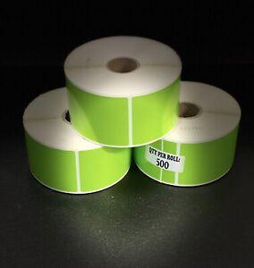 THERMAL Transfer LABELS, 49x 99mm, 3rolls x 500 LPR