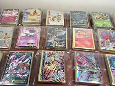 Pokemon Cards - Bulk Lot of 100- 1 Guaranteed EX HOLO + 20 Holos / Rare Cards
