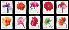 2007 Beautiful Blooms 4166-75 4175 Coil Singles Complete Set of 10 MNH - Buy Now