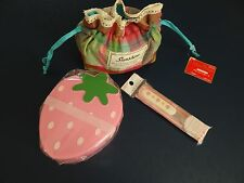 Japanese Lunch Bento Box Set Strawberry Shaped Design for Work & Kids School New