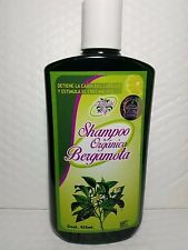 ORGANIC  BERGAMOT SHAMPOO NET WT 15.22 FL  OZ  450 ML MADE MEXICO NEW ORIGINAL