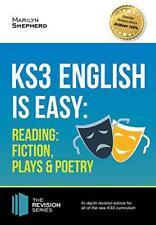 KS3: Inglés Es Fácil - Lectura (Fiction, Plays And Poesía). Completa Guidance Fo