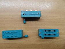 18pin ZIF socket  for DIL ICs Textool 0.3 Zero Insertion Force narrow DIP