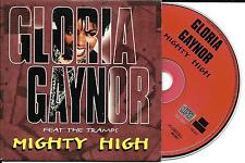 CD CARTONNE CARDSLEEVE 3 TITRES GLORIA GAYNOR feat THE TRAMPS MIGHTY HIGH 1997
