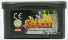 Jeu Castlevania Aria Of Sorrow - Nintendo Game Boy Advance GBA SP DS Lite / PAL