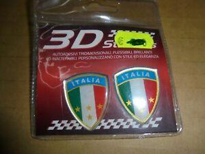 AdesivI Stickers 3D ITALIA AUTO MOTO CASCO CELLULARE GADGET