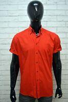 Camicia Uomo ROCCOBAROCCO Maglia Taglia XL Shirt Man Camicetta Manica Corta