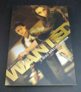 WANTED 2 DISC SPECIAL EDITION DVD (FACTORY SEALED) BRAND NEW