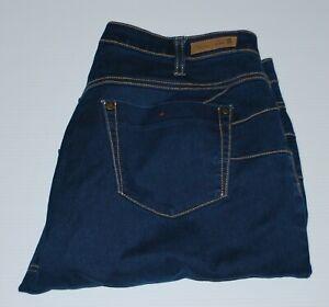 Thomas Cook no-gap comfort waistband blue denim jeans Size 16
