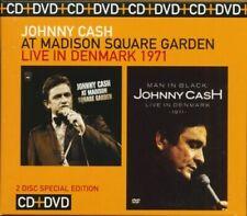 Johnny Cash-At Madison Square Garden/Live In Denmark [New & Sealed] Digipack 2CD