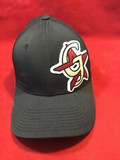 VINTAGE RARE NEW ERA 39THIRTY FLEX M/L MILB GREENEVILLE ASTROS BLACK HAT