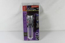 NEW! EMERGENCY CAR SAFETY LED FLASHLIGHT W/ ESCAPE HAMMER & SEAT BELT CUTTER