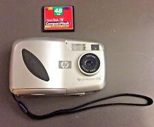 HP Photosmart 318 Digital Camera C8900A w/ SanDisk 48 MB Flash Memory Card