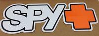 """12"""" X 4 1/4"""" Inch SPY+ ( SPY OPTIC Decal ) Car / Skateboard / Snowboard Sticker"""