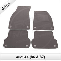 Audi A4 Saloon B7 2006-2008 Tailored Fitted Carpet Car Floor Mats GREY