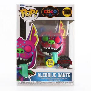 IN HAND! Funko POP! Disney: Coco - Alebrije Dante (Glows in Dark) Exclusive MINT