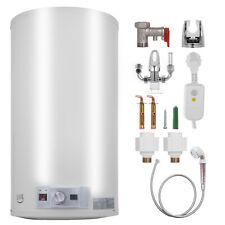 110L Electric Hot Water Heater Boiler Storage Tank Safe W/ Shower Head Bathroom