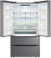 Counter 22.5 Cu Ft Depth Fridge French Door Stainless Steel Refrigerator Freezer