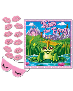 Princess Party Supplies Kiss The Frog Party Game