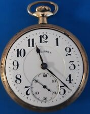 Illinois 19 Jewels,706 Grade, Size16  Pocket Watch.FREE 3 DAY PRIORITY SHIPPING.