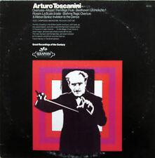 1-60150 Toscanini Mozart Rossini Weber Overtures BBC Symphony EX/VG Seraphim