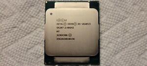 Intel Xeon E5-2620 V3 CPU SIX-Core 2.4GHz SR207 15MB 85W LGA 2011-3 Processor