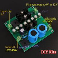 12V Tube amp / Pre-amp / Amplifier / Filament Filter Power Supply Board DIY Kits