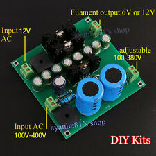 12V tube amp/pre-amp/amplificateur/filament filtre power supply board diy kits