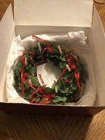 American Girl Pleasant Company Kirsten St Lucia Wreath Wooden Candles NIB NRFB
