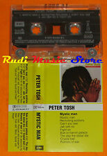 MC PETER TOSH Mystic man 1979 italy EMI 54 1629144 cd lp vhs
