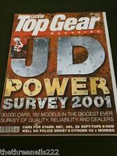TOP GEAR # 92 - JD POWER SURVEY - MAY 2001