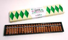 Korean 23 Digits Mathematic Calculator Abacus Soroban Business School Learning