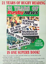 21 Years Of Rugby News New Zealand Rugby Poster