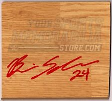 Brian Scalabrine Chicago Bulls Signed Autographed wood Floor board Tile
