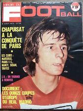 MIROIR DU FOOTBALL 1972 N 174 PIERRE- ALBERT CHAPUISAT