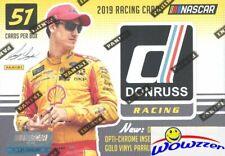 2019 Panini Donruss Nascar Racing EXCLUSIVE Factory Sealed Blaster Box-AUTO/MEM