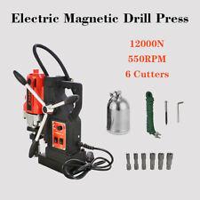 6pcs Core Drill Bit 1HSS Cutter Set Annular Cutter Kit MD40 Magnetic Drill Press