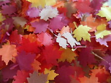 1 Pint of Autumn/Fall Tissue Maple Leaves Wedding/Party/ Confetti/Decoration