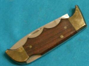 VINTAGE KERSHAW JAPAN 1040 LOCKBACK FOLDING FIELD2 HUNTER BOWIE KNIFE KNIVES VG+