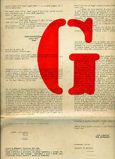 PERROTTA Raffaele, G. Libro d'artista. Il Periplo Editore, Milano, 171