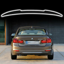 STOCK IN USA ▶ Unpainted For BMW F80 M3 F30 Model V-Type Rear Trunk Spoiler Wing