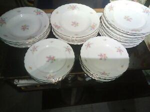 Servizio Di 30 Piatti In Ceramica Durken Vintage